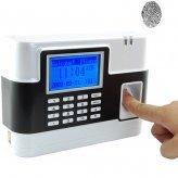 Fingerprint Time Attendance And Door System (White)