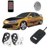 Fingerprint Car Security System with GSM Alerts
