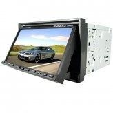 Car Entertainment System + GPS with 7.0 Inch Touchscreen (2-DIN)