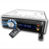 Car CD DVD Player 1-Din Music And Movie Entertainment