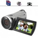 Family HD Camcorder with 3 Inch Screen + Dual SD Card Slots
