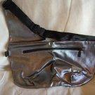 MAC Silver & Black Waist Bag