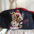 Ed Hardy New York City Navy Blue Duffle Bag