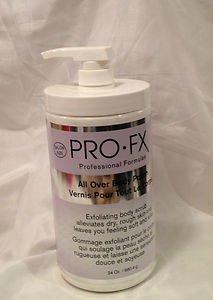 Pro Fx Professional Formula All Over Body Polish Exfoliator Scrub Salon sz 24oz