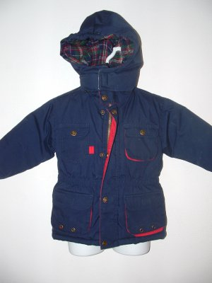 EUC Boys OUTBROOK KIDS Hooded Winter Coat Jacket 2T