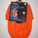 NWT Girls Boys 2pc Halloween PUMPKIN Costume 0-3-6-9 Mo