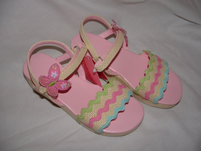 NWT Girls GYMBOREE PALM SPRINGS Butterfly Sandal Sz 2