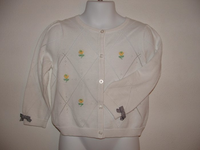 NWT Girls GYMBOREE Prep Club Cardigan Sweater Sz 2T