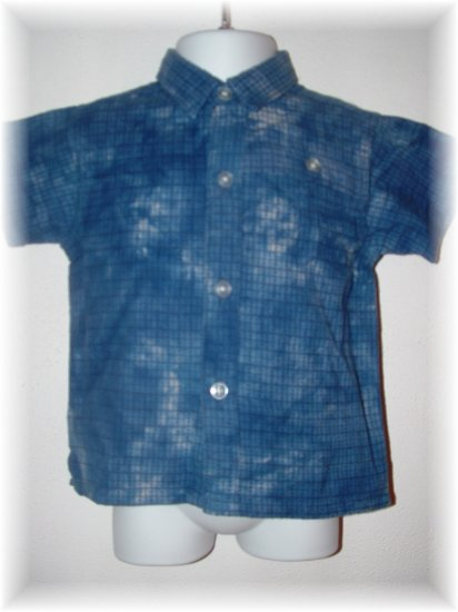 NWT Boy CHILDRENS PLACE Short Sleeve Dress Shirt 6-9 Mo