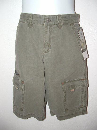 **NWT** Boys COLUMBIA Khaki Carpenter Shorts Size 10