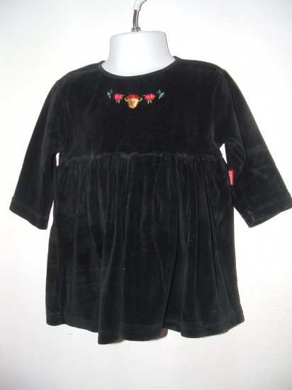 Girls ESPRIT Velour Christmas Dress Sz 18 Months *EUC*
