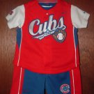 Infant Boys NIKE 3pc CUBS SOSA Short Set Sz 6-9 Mo *LN*