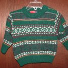 *NWOT* Boy GYMBOREE Family Crest Wool Sweater Sz 3-6 Mo