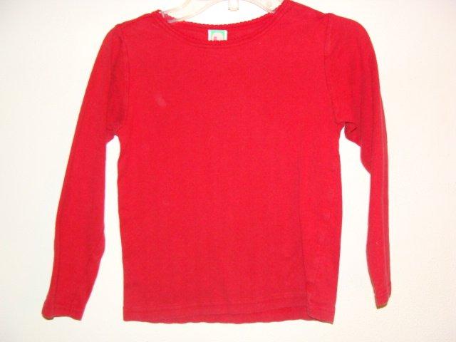 Girl GYMBOREE Mad About Plaid Long Sleeve Shirt 6 *EUC*