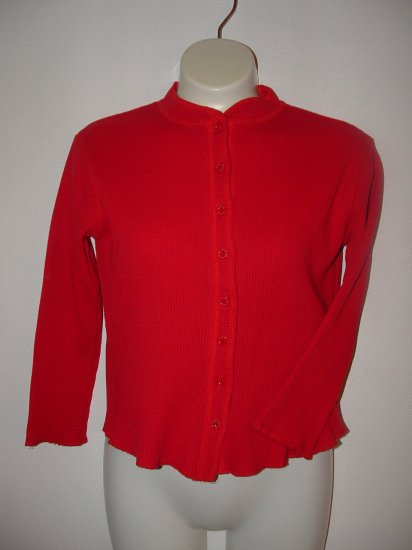 Girls LIMITED TOO Red Thermal Long Sleeve Top 8 *EUC*