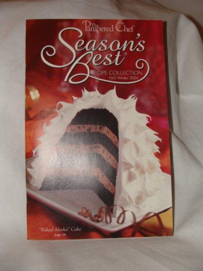 NEW Pampered Chef Season's Best Fall/Winter 2004 Recipe
