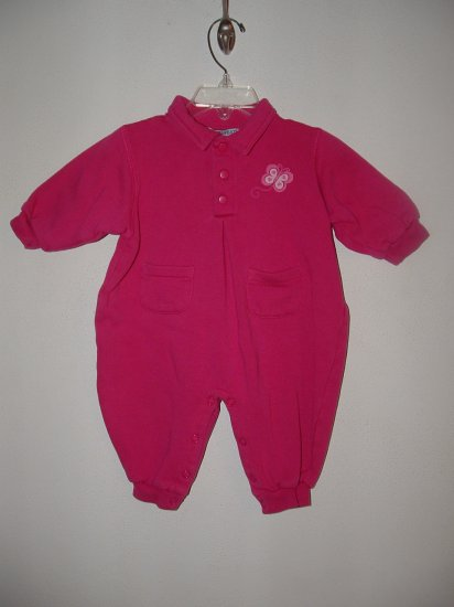 Girls CHILDREN'S PLACE Tiny Sweats Romper 6-9 Mo *EUC*