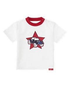 Boys GYMBOREE Star Spangled Tee T-shirt 3-6 Month *EUC*