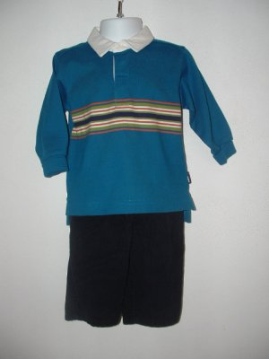 Boys GYMBOREE & KRU Pant Shirt LOT 12 Months **EUC**