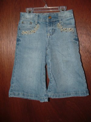 STYLISH Girls ZANA DI Denim Gaucho Pants/Shorts 5 *EUC*
