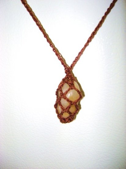 Soho Necklace Brown