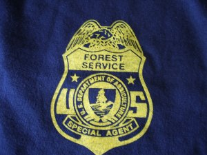 UNITED STATES FOREST SERVICR SPECIAL AGENT T-SHIRT