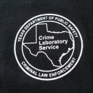 TEXAS DPS CRIME LABORATORY T-SHIRT