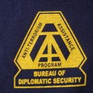 DIPLOMATIC SECURITY SERVICE ANTI-TERRORISM T-SHIRT
