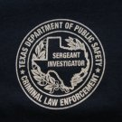TEXAS DEPARTMENT PUBLIC SAFETY INVESTIGATOR T-SHIRT