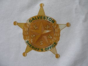 GALVESTON COUNTY TEXAS SHERIFF'S OFFICE T-SHIRT
