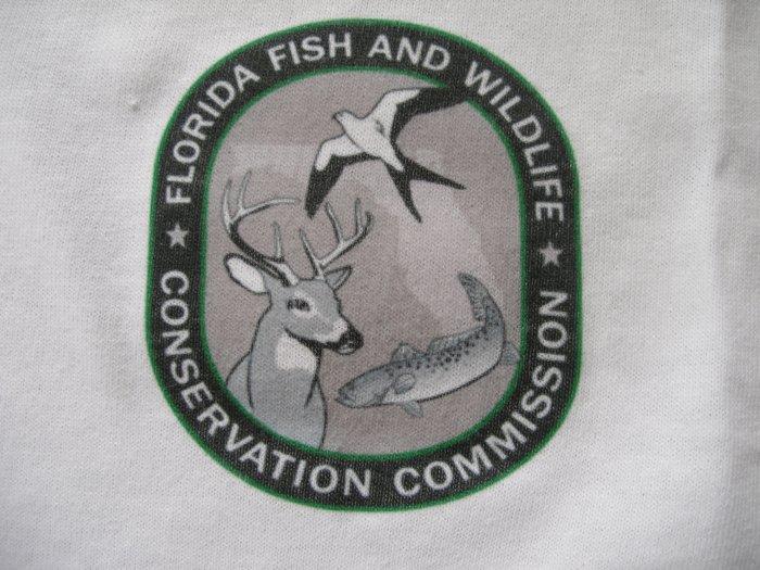 Florida fish wildlife conservation commission t shirt for Florida fish and wildlife commission