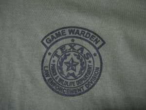 TEXAS GAME WARDEN T-SHIRT