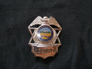 OHIO SECURITY OFFICER BADGE