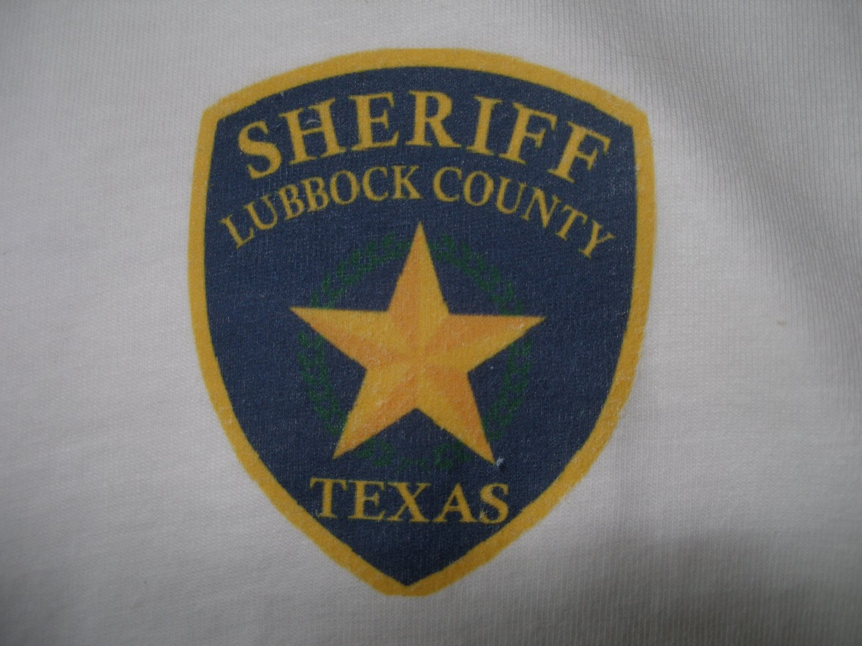 LUBBOCK COUNTY SHERIFFS DEPARTMENT T-SHIRT