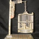 Old Bone Art Dragon Figure Carving Birdcage Decoration