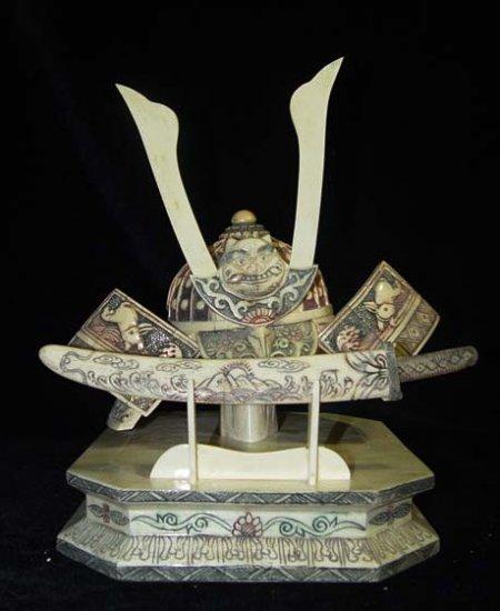 Old Bone Art Handicraft general Cap Sword Decoration