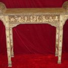 "Exquisite Bone Art Handicraft Carving 8 immortal Table 59"" Length"