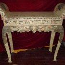 Exquisite Bone Art Handicraft Carving Dragon Design Table altar