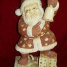 Exquisite Bone Art Handicraft Chinese Santa Claus Figure