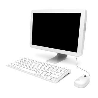 Pearl White Desktop