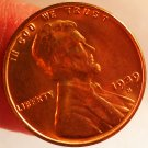 1939-S Lincoln Wheat Cents.