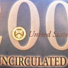 2000 U.S. Mint UN-Circualted Coin Set.