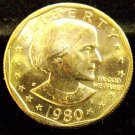 1980-P Susan B. Anthony. Choice UN-Circulated.