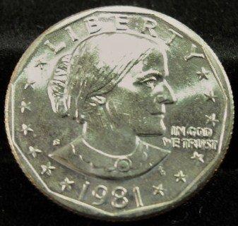 1981-S Susan B. Anthony  Choice UN-Circulated.