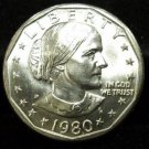 1980-D Susan B. Anthony. Choice UN-Circulated.