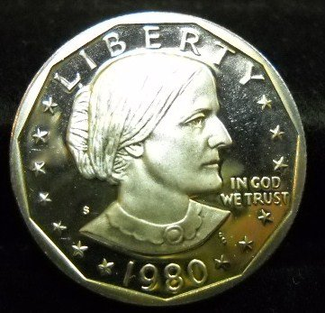 1980-S Susan B. Anthony. Choice Proof.