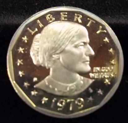1979-S Susan B. Anthony. Gem Proof. Typ-1