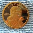 2001-S  Sacagawea Proof Dollar,  Large Store Inventory Of Modern Issues.