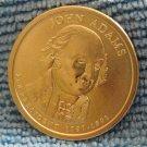 "2007-D Presidential Dollar. ""John Adams"""