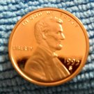 1995-S Lincoln Memorial Cents. Choice Proof.